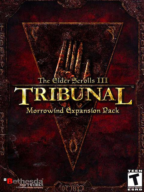 Okładka TES III: Morrowind - Tribunal